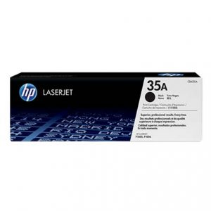 Jual HP CB435A Black Original LaserJet Toner Cartridge