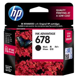 Jual HP 678 Black Ink Cartridge