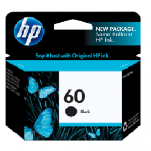 Jual HP 60 Black Ink Cartridge