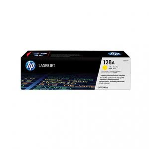 HP CE322A Yellow Original LaserJet Toner Cartridge