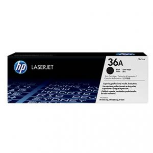 HP CB436A Black Original LaserJet Toner Cartridge